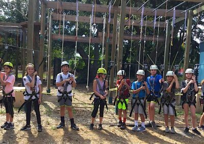 fitness challenge, wild blue ropes, ropes course, charleston attraction