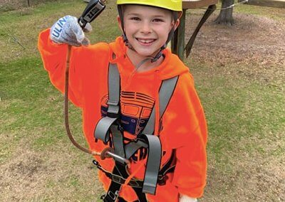 family things to do, wild blue ropes, ropes course, charleston attraction