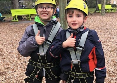 family attraction, wild blue ropes, ropes course, charleston attraction