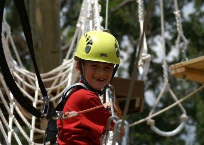 kid at summer camp in charleston