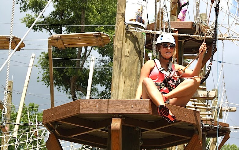 Wild Blue Ropes Adventure Park Re-Opening