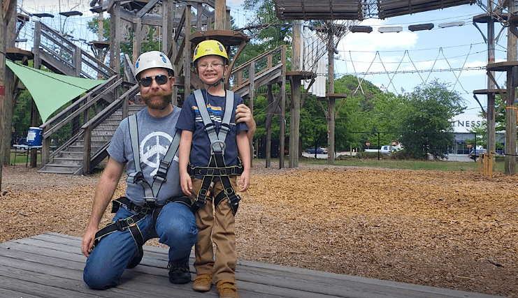 Wild Blue Ropes Adventure Park Charleston SC